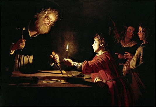 St Joseph, by Gerrit van Honhorst, 1620
