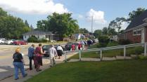 Prayers & Procession