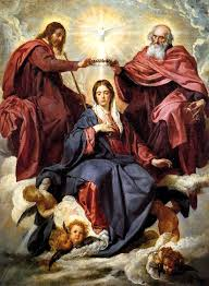 Coronation of the Virgin Mary by Diego Velasquez, 1645