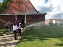 the fire hose!